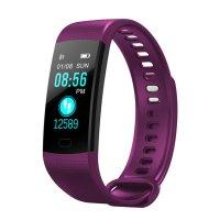 Bratara fitness Aipker Y5 plus-tensiune, ritm cardiac-violet