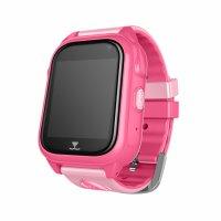 Ceas telefon Smartwatch rezistent la apa cu GPS pentru copii Usmart  M06-roz