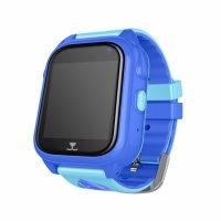 Ceas telefon Smartwatch rezistent la apa cu GPS pentru copii Usmart M06-albastru