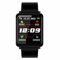 Bratara fitness Aipker F1 plus- ritm cardiac,tensiunea arteriala,blood oxygen -black