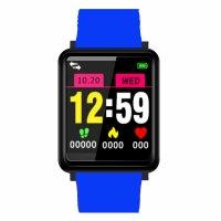 Bratara fitness Aipker F1 plus- ritm cardiac,tensiunea arteriala,blood oxygen -blue