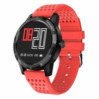 Smartwatch Aipker M1 - ritm cardiac,tensiunea arteriala -rosu
