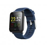 Bratara fitness Aipker Q9- ritm cardiac,tensiunea arteriala,blood oxygen -blue