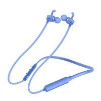 Casti bluetooth Usmart X7 sport magnetic,sunet HD-albastru