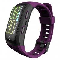 Bratara fitness Aipker S908-GPS incorporat,rezistent la apa ,violet