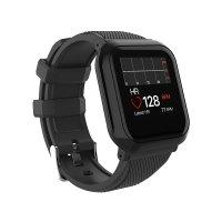 Bratara fitness Aipker DB05- ritm cardiac,tensiunea arteriala,blood oxygen -black