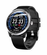Ceas smartwatch  Aipker N58- ritm cardiac,PPG+EKG,tensiunea arteriala -negru