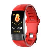Bratara fitness Aipker P11- ritm cardiac,PPG+ECG+HRV,tensiunea arteriala-red