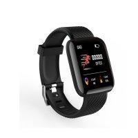 Smartwatch sport F8- ritm cardiac,tensiunea arteriala -black