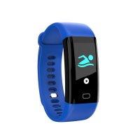 Bratara fitness Aipker F07-monitorizare inot,tensiune,ritm cardiac -albastru