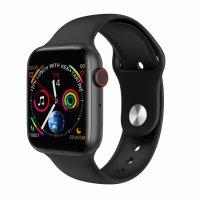 Smartwatch M6- ritm cardiac si  ECG monitor, ecran de 1,54 inch-black