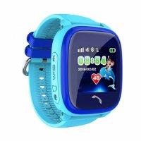 Ceas telefon Smartwatch rezistent la apa cu GPS pentru copii Usmart K7 -albastru