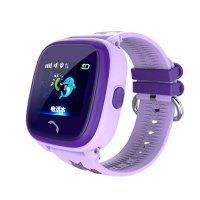 Ceas telefon Smartwatch rezistent la apa cu GPS pentru copii Usmart K7 -mov