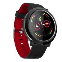 Smartwatch Aipker B78- ritm cardiac,tensiunea arteriala -red black
