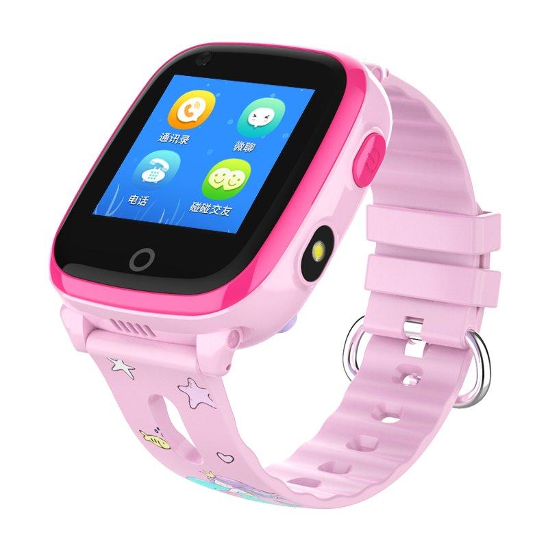 Ceas telefon 4g cu GPS copii Usmart K3 compatibil DIGI-roz