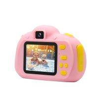 Camera foto pentru copii Usmart AT83 ,inregistrare video HD -roz
