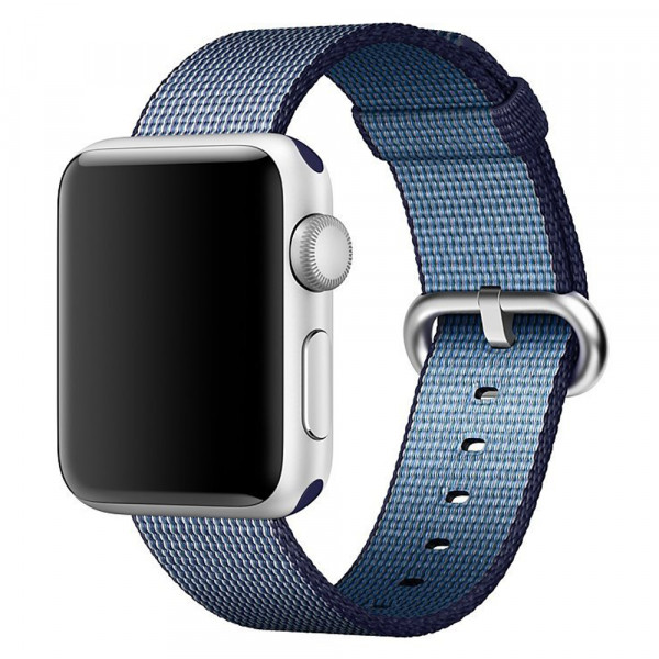 cureapentruapplewatch38mmiuniwovenstrapnylonmidnightblue (1)