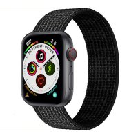 Curea Appel Watch 38-40 mm ,nylon black ,compatibil seria 1/2/3/4/5
