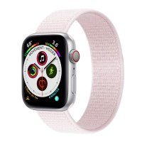Curea Apple Watch 42-44 mm ,nylon roz ,compatibil seria 1/2/3/4/5