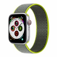 Curea Apple Watch 38-42 mm ,nylon green ,compatibil seria 1/2/3/4/5