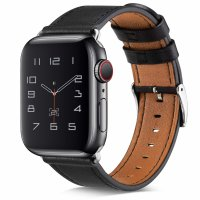 Curea Appel Watch 42-44 mm ,piele black ,compatibil seria 1/2/3/4/5/6