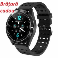 Smartwatch Aipker P6- ritm cardiac,tensiunea arteriala - black