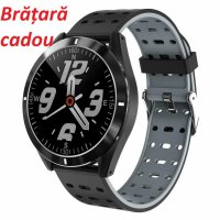 Smartwatch Aipker P6- ritm cardiac,tensiunea arteriala - gray