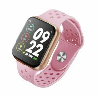 Smartwatch Aipker F9- ritm cardiac, bluetooth 4.0 ,ecran de 1,3inch-roz