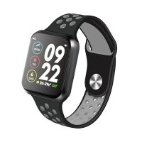 Smartwatch Aipker F9- ritm cardiac, bluetooth 4.0 ,ecran de 1,3inch-black