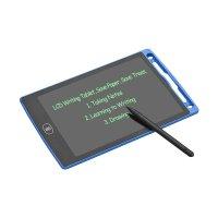 Tableta LCD pentru  copii de 8.5 inch - scris si desenat -negru
