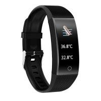 Bratara fitness Aipker QW18-termometru,ritm cardiac-black