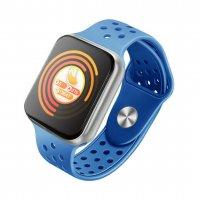 Smartwatch Aipker F9- ritm cardiac, bluetooth 4.0 ,ecran de 1,3inch-albastru