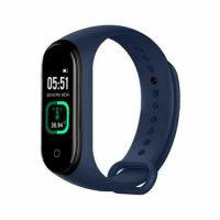 Bratara fitness Aipker M4 pro- tensiune arteriala ,termometru, albastru