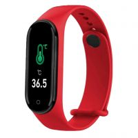 Bratara fitness Aipker M4 pro- tensiune arteriala ,termometru, rosu