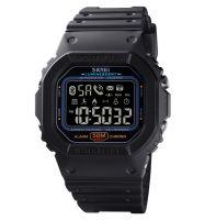 Smartwatch classic SKMEI 1629 -bluetooth, rezistent la apa-black