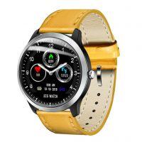 Ceas smartwatch  Aipker N58- ritm cardiac,PPG+EKG,tensiunea arteriala -brown