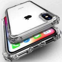Husa iPhone X/Xs acril silicon -shockproof si anti-praf ,transparent