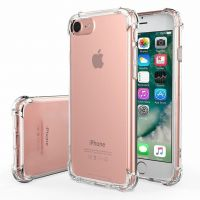 Husa iPhone 8 max acril silicon -shockproof si anti-praf ,transparent
