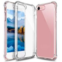 Husa iPhone 7/8 acril silicon -shockproof si anti-praf ,transparent