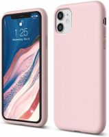 Husa iPhone 11 ultra slim silicon TPU -shockproof ,pink