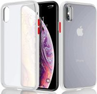 Husa mata iPhone X max anti amprentă ,shockproof si anti-praf ,translucid