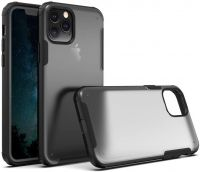 Husa mata iPhone 11 max anti amprentă ,shockproof si anti-praf ,translucida