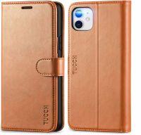 Husa Iphone 11   -piele maro