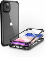 Husa iPhone 11 bumper acril silicon protectie sunet,antisoc