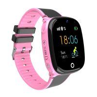 Ceas telefon Smartwatch rezistent la apa cu GPS pentru copii Usmart  M06 plus-roz