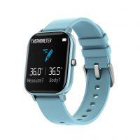 Smartwatch Aipker P8- sport band cu termometru,-albastru