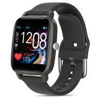 Ceas smartwatch Aipker  T98 pro  - sport band, multiple functii,termometru-black