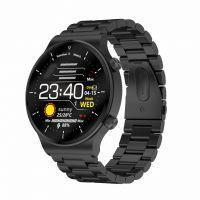Smartwatch Aipker C12- ritm cardiac,oxigen sange,tensiune arteriala  -black
