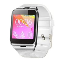 Ceas smartwatch GV18 Aplus-cartela SIM-1.54 inch HD touchscreen -white