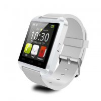 Ceas smartwatch  bluetooth U8-1.44 inch -white